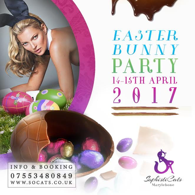 Easter Party - no1 strip club in London Socats