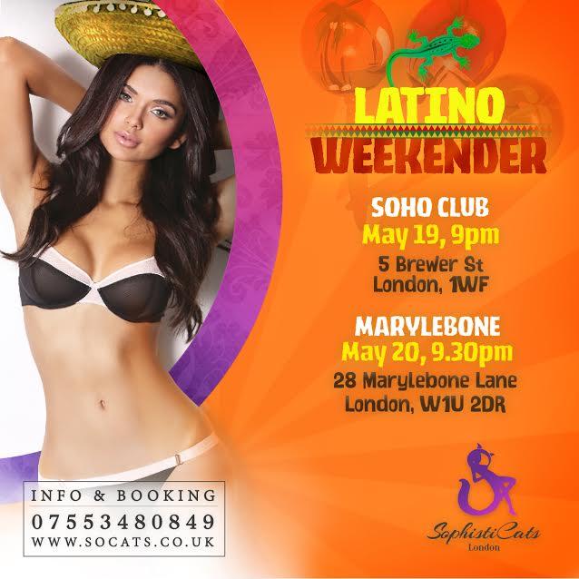 Latino Party at strip club london